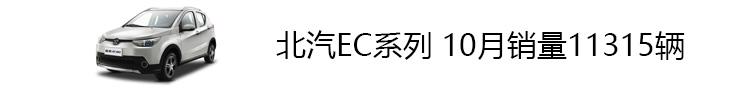 1、10月销量_北汽