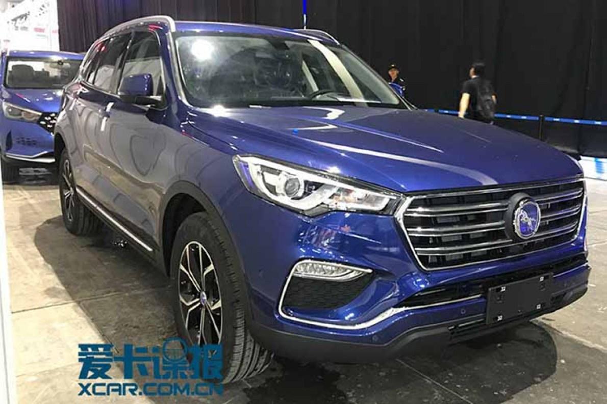 2017广州车展|邦热点 汉腾X7混动版已就位