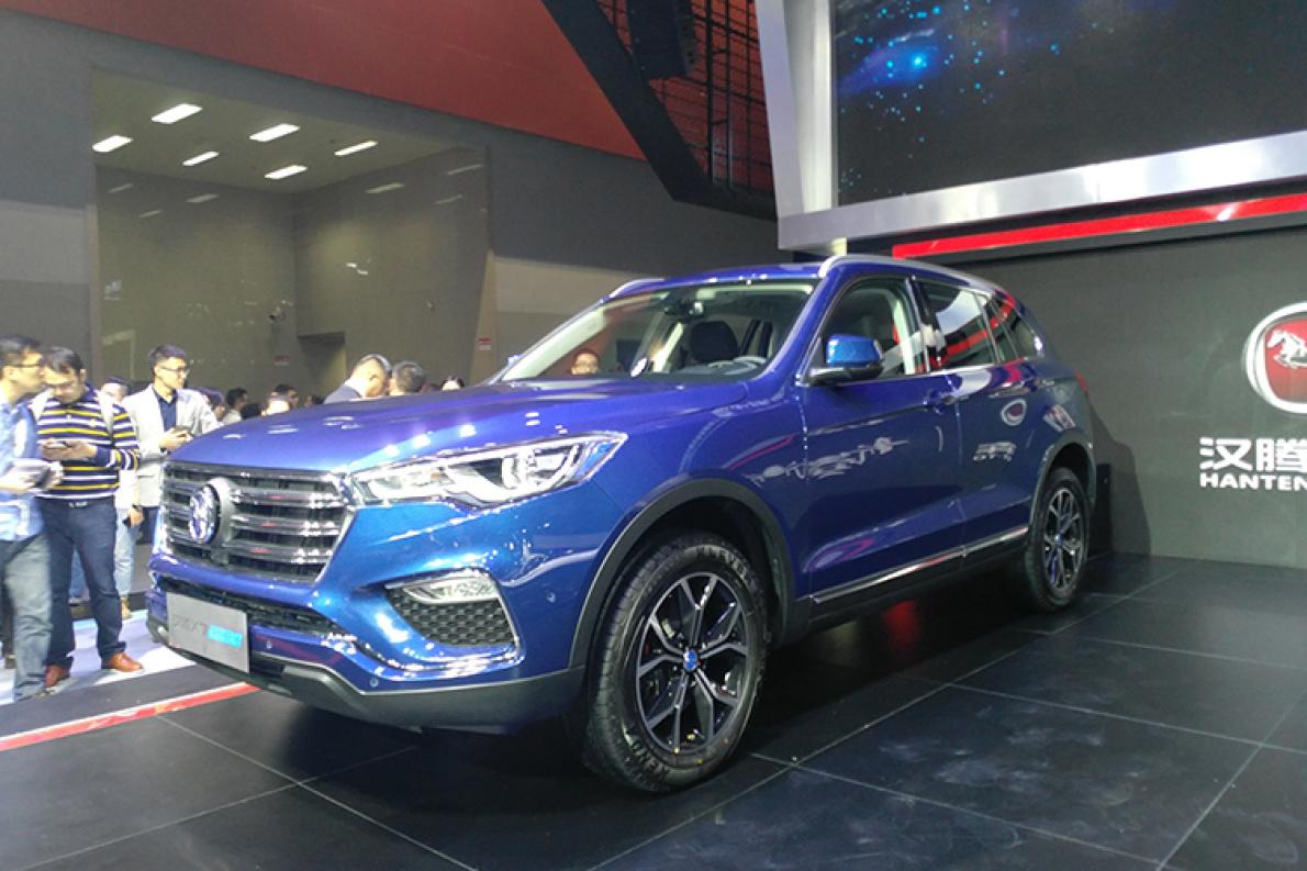 2017广州车展|上市 汉腾X7 PHEV补贴后售价19.38-21.38万