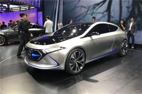 2017广州车展|邦热点 奔驰EQ A概念车发布