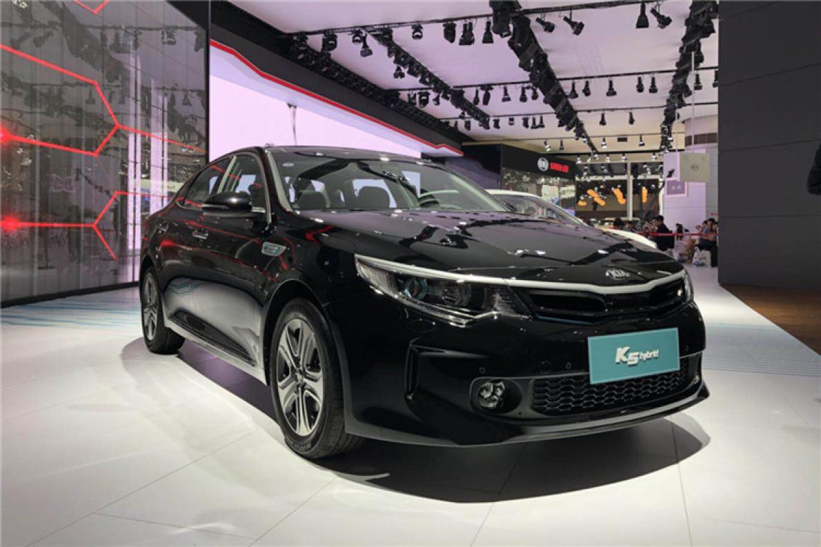 2017廣州車展|邦熱點 全新起亞K5混動版亮相