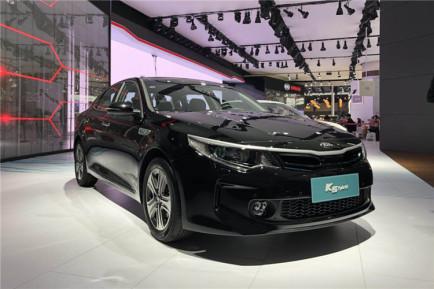 2017广州车展|邦热点 全新起亚K5混动版亮相-起亚K5最新报价 起亚K5