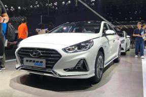 2017广州车展|邦热点 北京现代索纳塔九PHEV发布