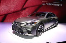 2017广州车展|邦热点 雷克萨斯LS500h发布
