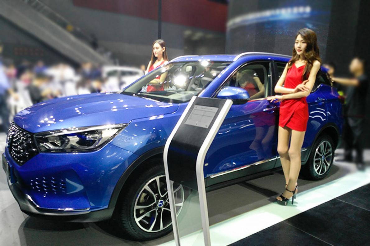 2017广州车展|邦解读:纯电动SUV汉腾X5 EV