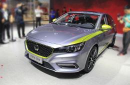 2017广州车展|邦解读:四门掀背轿跑MG6混动版