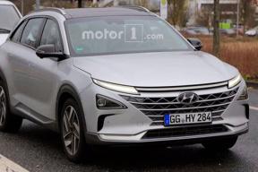 现代第二代氢燃料电池车曝光 将2018年定名