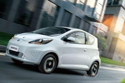 荣威e50电动汽车价格,荣威e50车型介绍