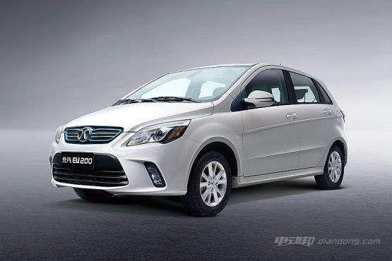 新能源汽车价格表:北汽新能源EV200