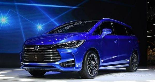 七座新能源汽车:比亚迪宋