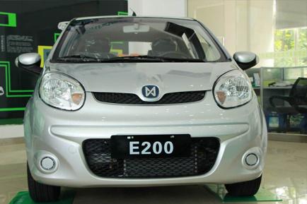 电动汽车江铃e200价格以及车型介绍