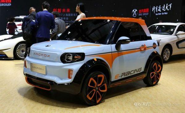 北汽纯电动汽车:ARCFOX-1 介绍