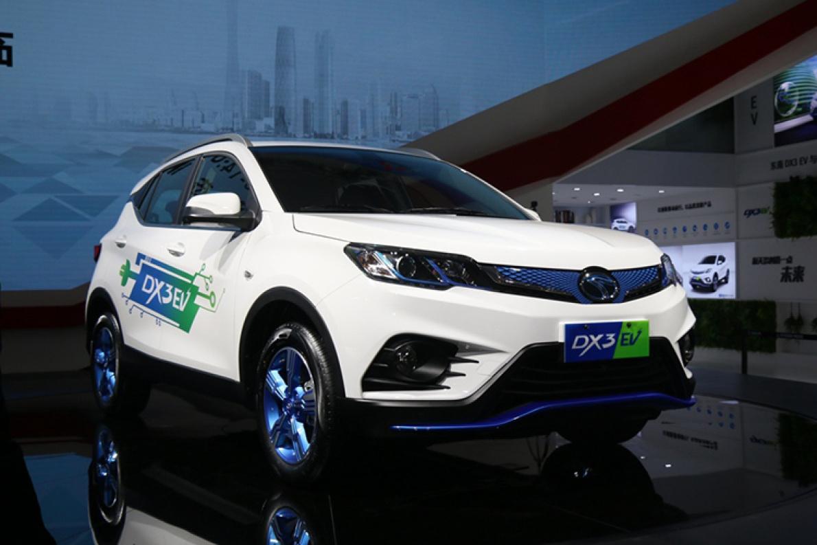 东南DX3 EV预计明年二季度上市 续航310公里