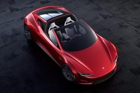 特斯拉全新Roadster除了速度惊人 外观颜色还闷骚