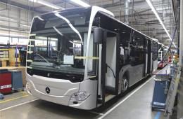 奔驰Citaro纯电公交车将于2018年年底交付
