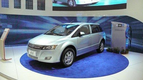 比亚迪纯电动汽车介绍:比亚迪e6