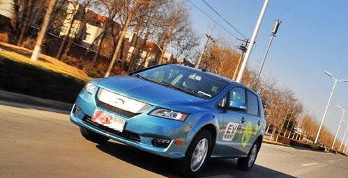 比亚迪纯电动汽车E6