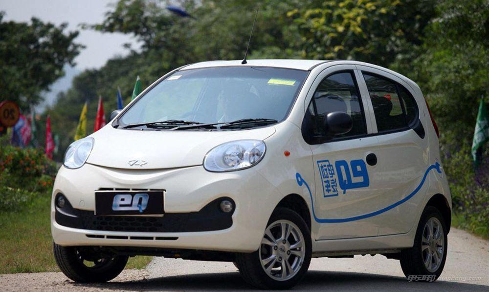 國內純電動汽車推薦:奇瑞eQ