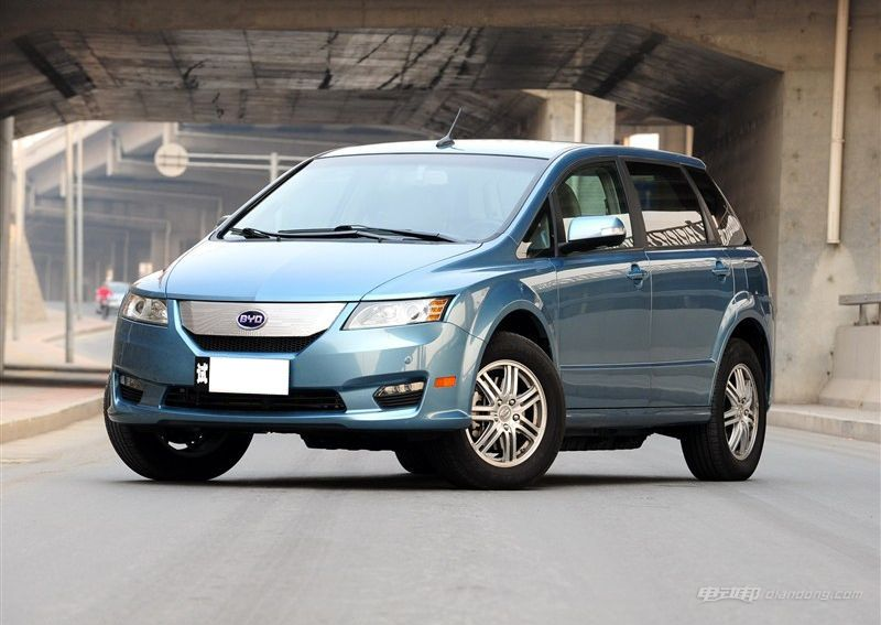 國內純電動汽車推薦:比亞迪e6