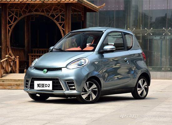 知豆电动汽车价格:价格