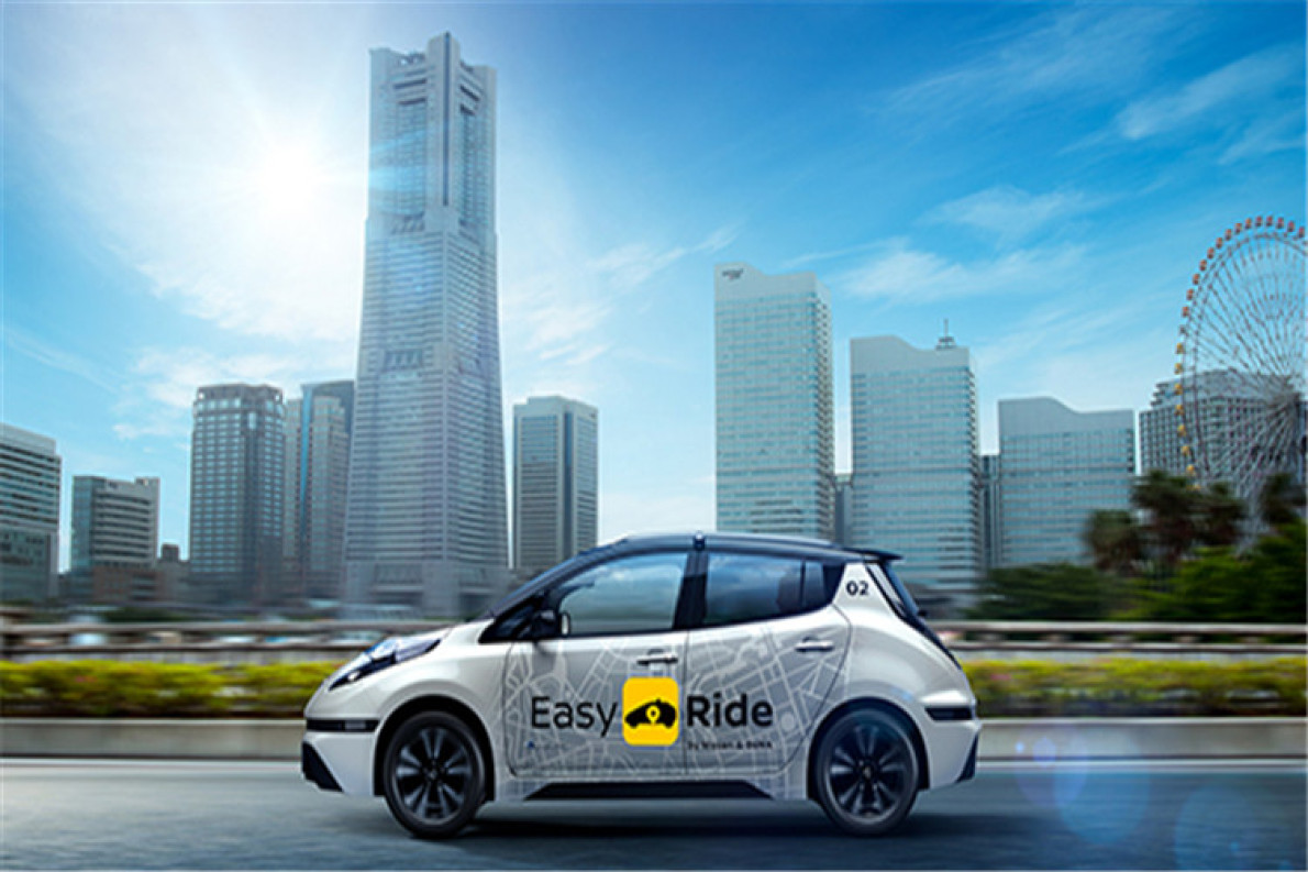 """日产将推出""""机器人主动驾驶出租车""""聆风"""