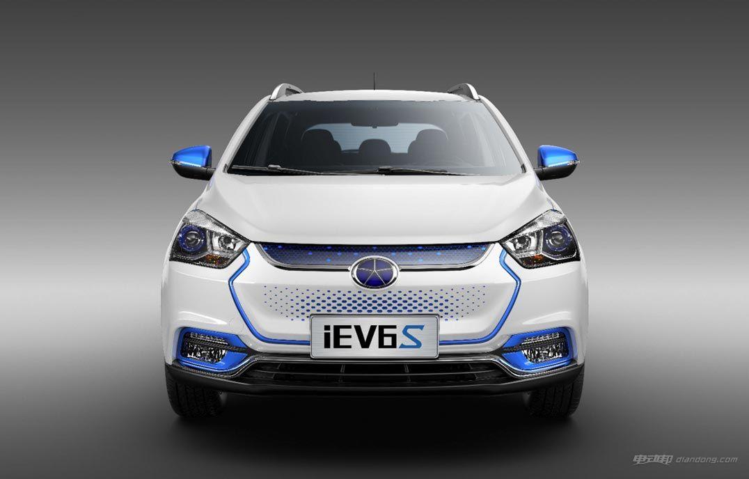 性价比较高的电动汽车:江淮iEV6S