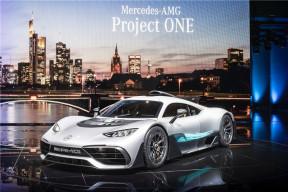 梅赛德斯-奔驰AMG Project one设计灵感来自F1?
