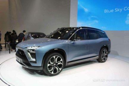 蔚来电动汽车报价,蔚来ES8上市预售价30万元起
