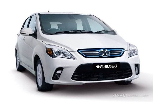 十万左右电动轿车:北汽EV160
