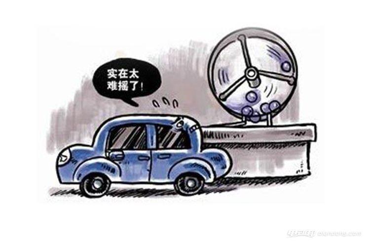 汽油车摇号难