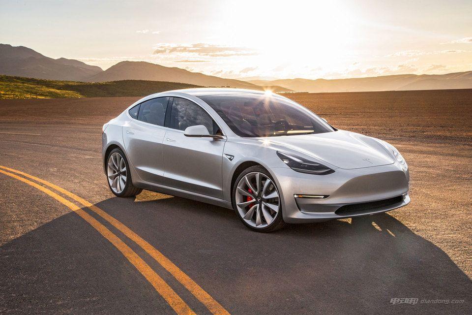 中型纯电动汽车介绍:特斯拉Model 3动力
