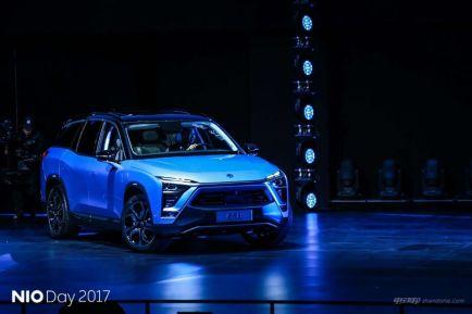 这是一款最震撼的车 蔚来ES8售44.8-54.8万