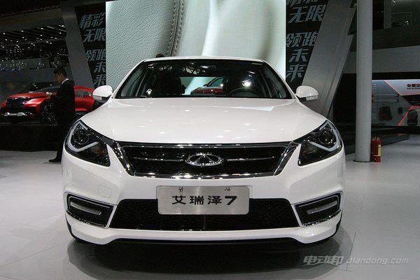 国产的混合动力汽车:艾瑞泽7e