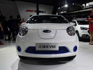 5万左右的电动汽车推荐,江淮新款iEV6E补贴后售价区间为4.95-5.95万元