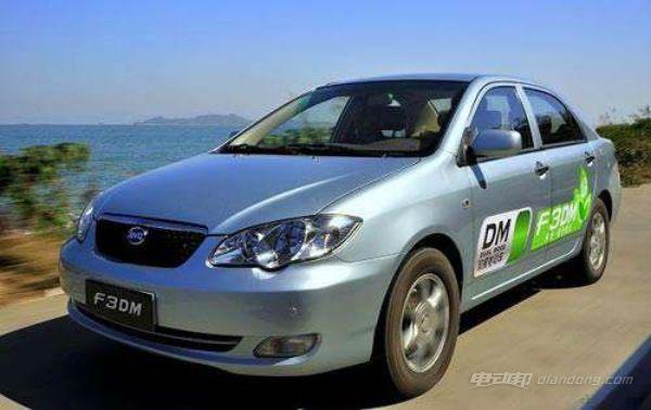 比亚迪新能源汽车:价目表