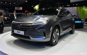 现代氢燃料电池车Nexo于2018 CES正式发布