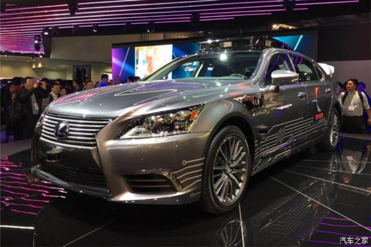 丰田发布自动驾驶车 搭丰田3.0版本自动驾驶平台