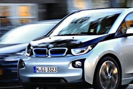 宝马i3纯电动汽车,纯电动bmw i3
