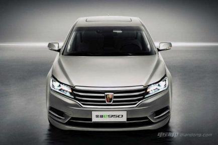 荣威e950混合动力车,荣威e950获国家绿色认证最高等级