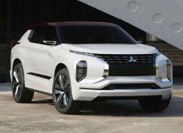 三菱小型越野车,三菱GT-PHEV概念车配四驱油耗仅需4.0L