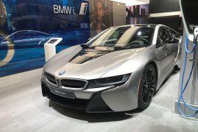 细节有变化 全新宝马i8 Coupe亮相2018北美车展