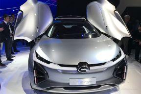 针对北美市场打造 广汽传祺全新Enverge概念车发布