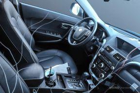 预计今年上市 看看奔腾X80电动版内饰长啥样