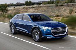 续航500公里 奥迪首款国产高档电动SUV将在2020年发布