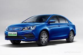 预售价14-17万元 吉利帝豪EV450或将3月上市