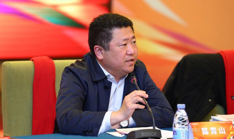 ▲ 福田轻型商用车事业部总裁陈青山