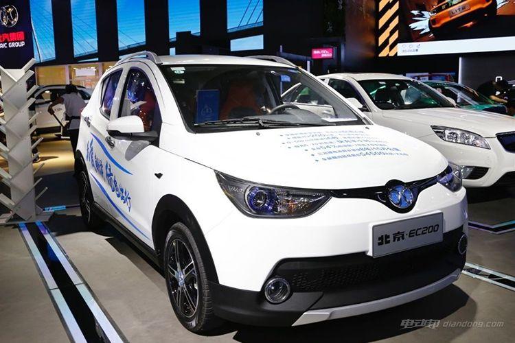 本文配图车型为:北汽新能源EC200