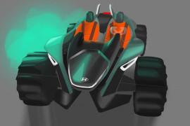 日内瓦车展亮相 现代KITE纯电动概念车