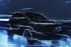 现代KONA EV预告图 3月日内瓦车展亮相