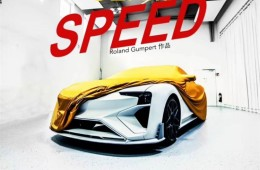 它从电影来——爱驰Gumpert新车官方预告图曝光